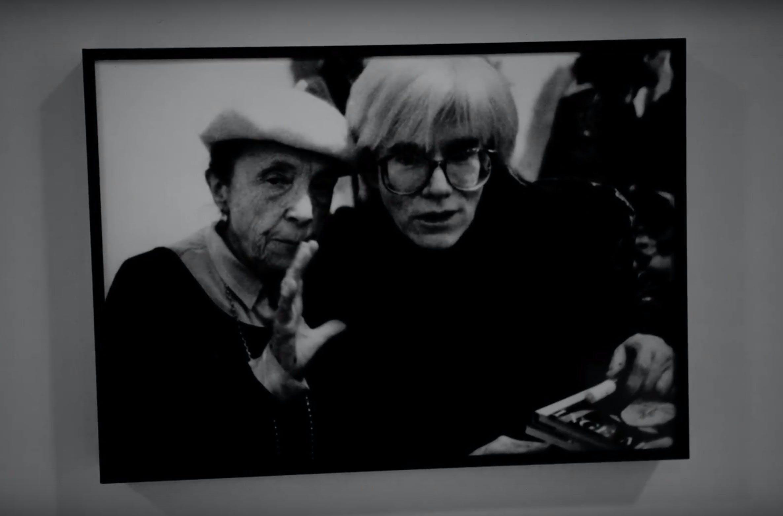 Fotografi av Andy Warhol og Louise Bourgeois